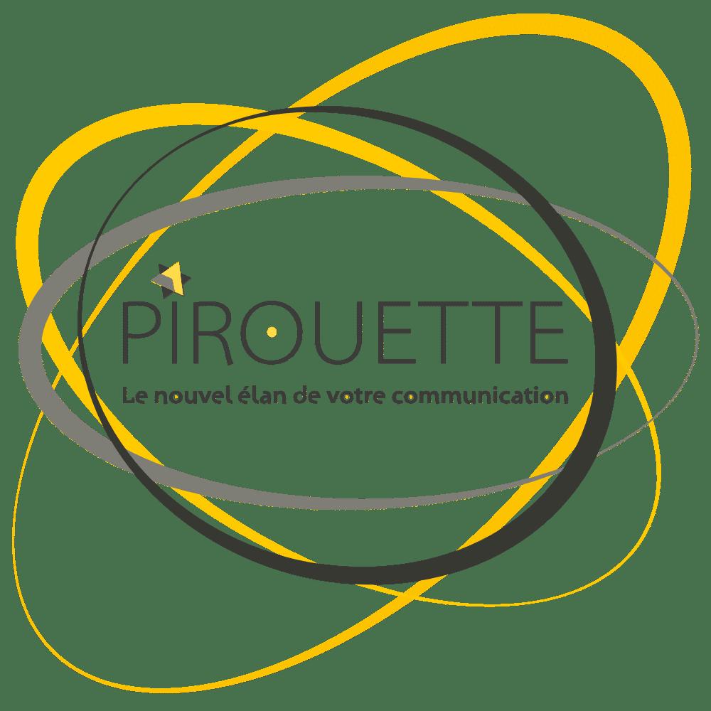 Logo de l'agence Pirouette Communication Angers