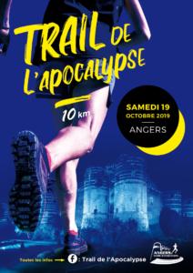 Agence Pirouette: fournisseur & partenaire du 1er Trail nocturne, Angers, 19octobre: Le Trail de l'Apocalypse